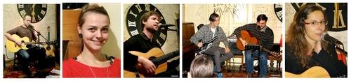 5x5 |  Koncert písničkářů | Salmovská literární kavárna | 19.11.2013