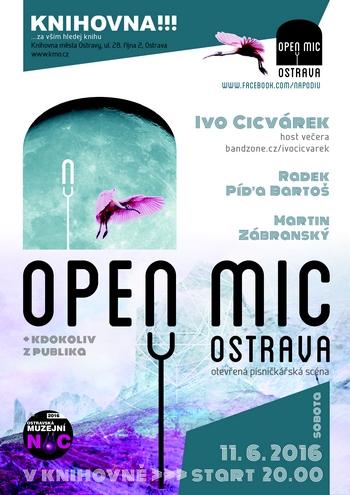 Open Mic Ostrava 11.6.2016