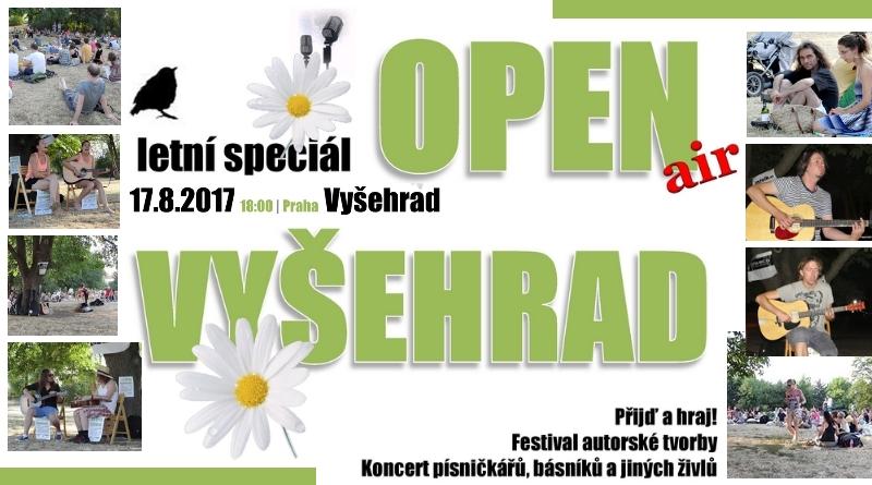 Akustický festival písničkářů –OPEN air Vyšehrad 2017