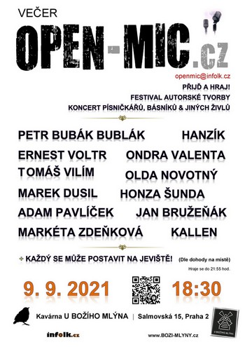 OPEN-MIC.cz | Přijď a hraj!