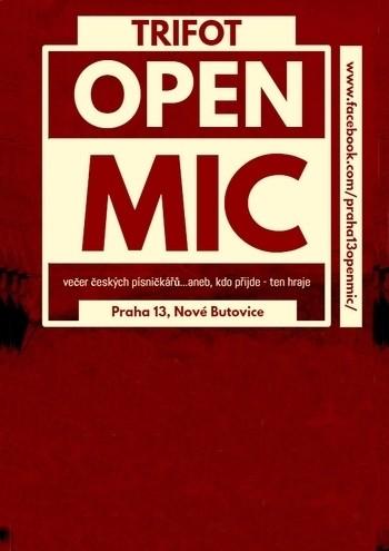 TRIFOT Open Mic na 13
